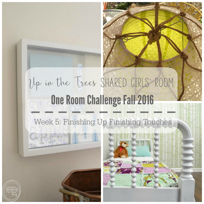 Finishing Up The Finishing Touches One Room Challenge