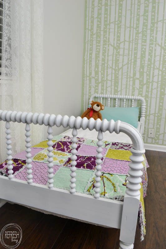 Refinished Spindle Bed With A Trick For Finding Mattresses To Fit Antique Beds Refresh Living