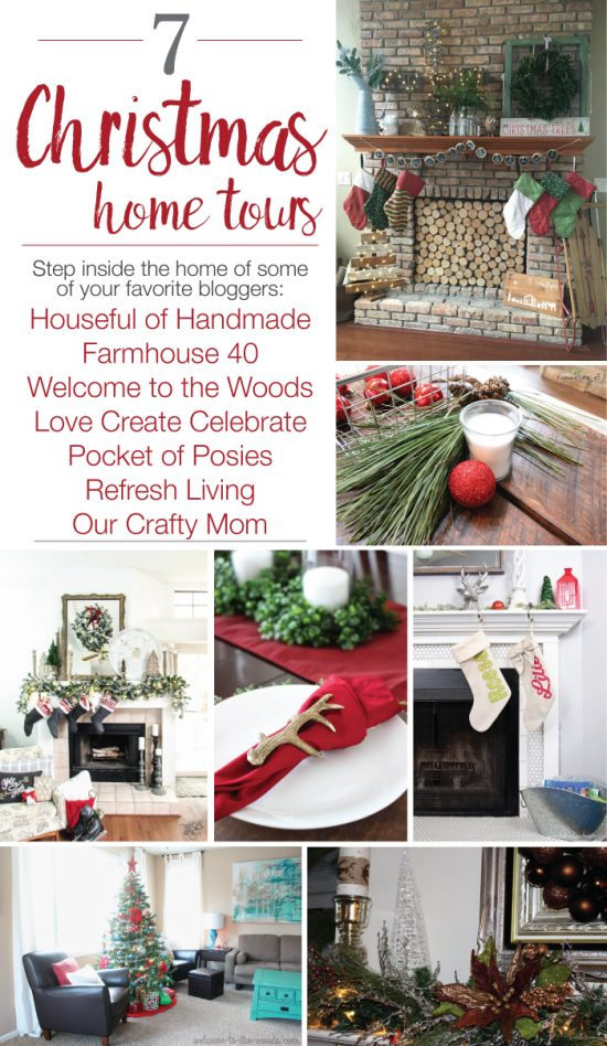 I love looking at others' homes to gain ideas for my own home! This collection of Christmas tours is awesome!