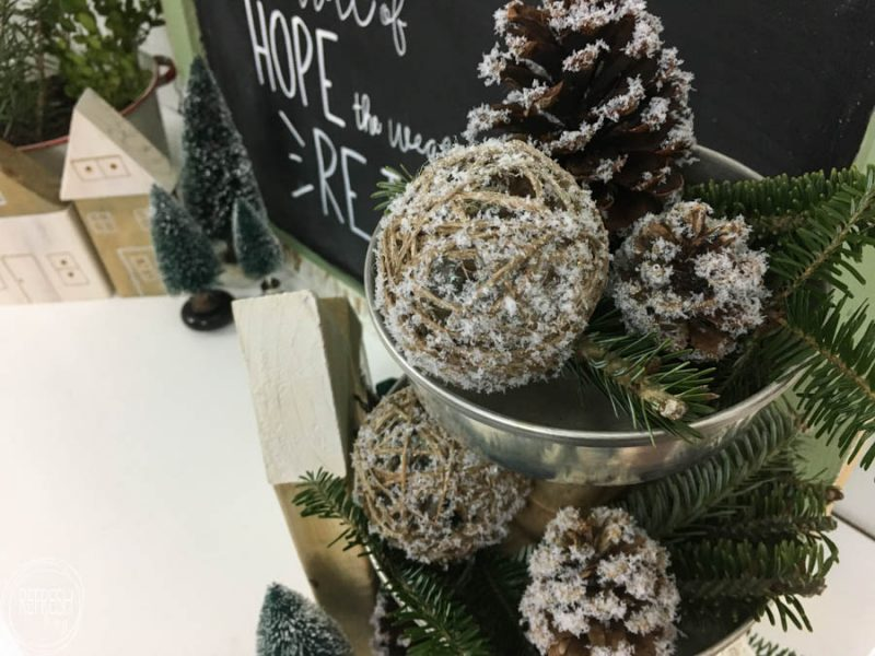this is my kind of holiday decoration inexpensive and easy to make by adding