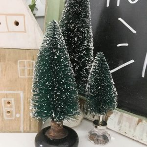 Unique Ways to Use Bottle Brush Christmas Trees