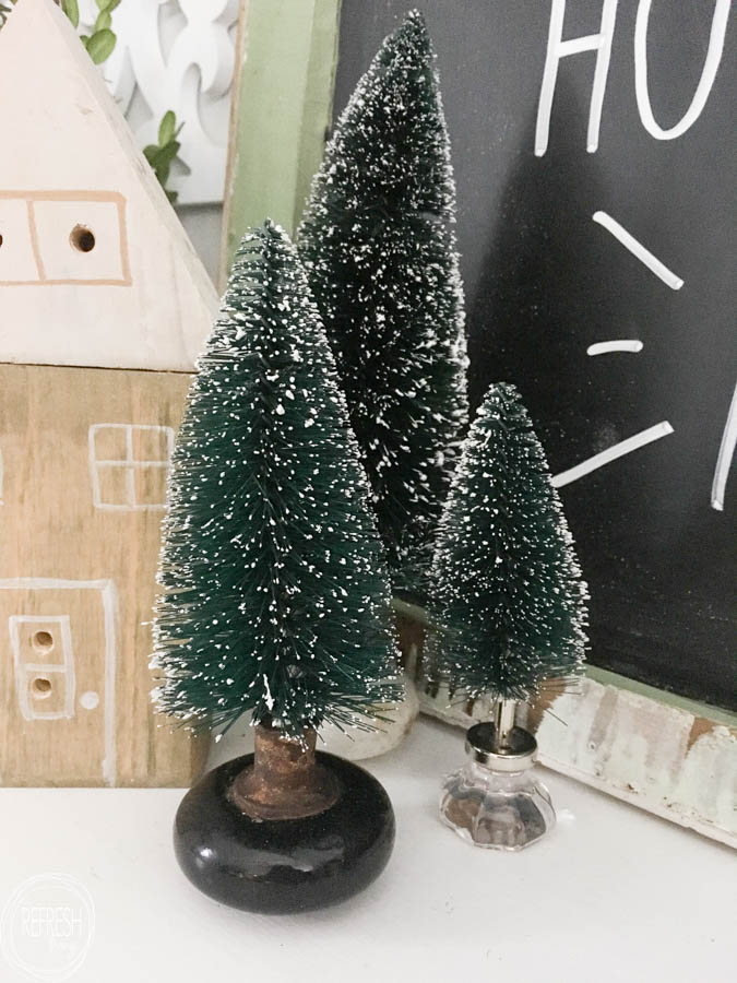 half off 5fb86 229eb Unique Ways to Use Bottle Brush Christmas Trees - Refresh Living