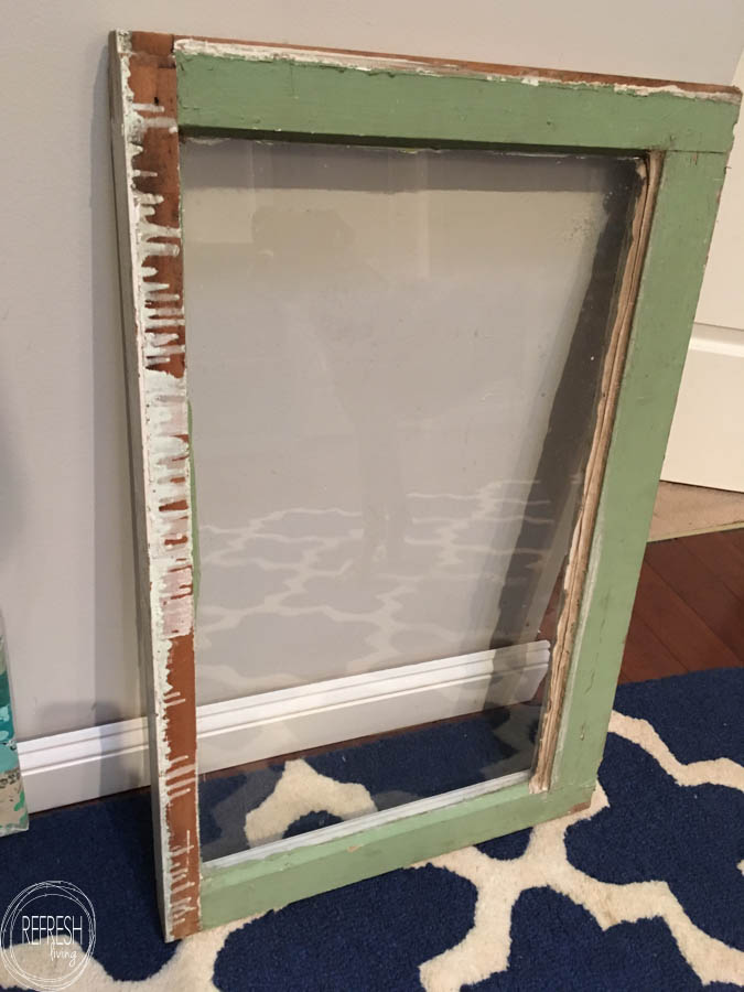 the best way to paint a window as a chalkboard-1 - Refresh ...
