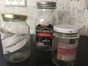 Finally, an easy way to remove stubborn, sticky labels and residue from glass jars!