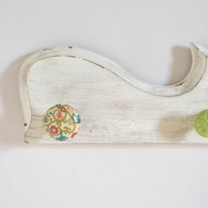 Finally! An easy way to attach dresser knobs to wood! I could use this to hang jewelry, or even make a towel or coat rack.