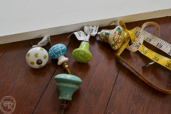 Finally! An easy way to attach dresser knobs to wood!