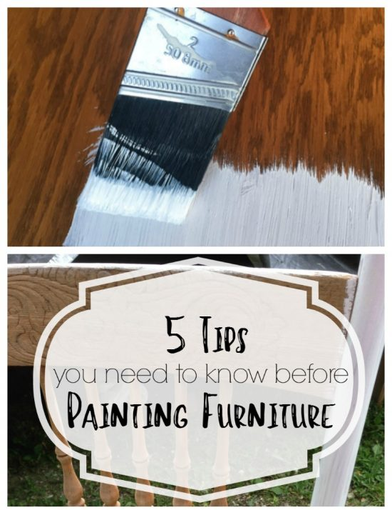 I Wish I Had Known These 5 Tips For Painting Furniture Before I Started  Painting!