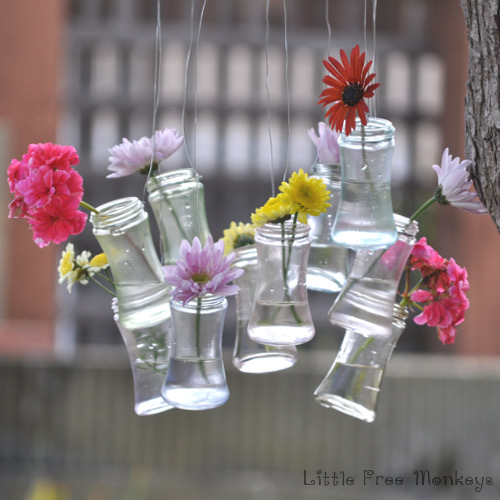These DIY projects are brilliant AND they allow you to reuse old glass jars or mason jars.