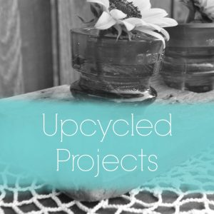 There are so many great upcycled projects here to help decorate your home.