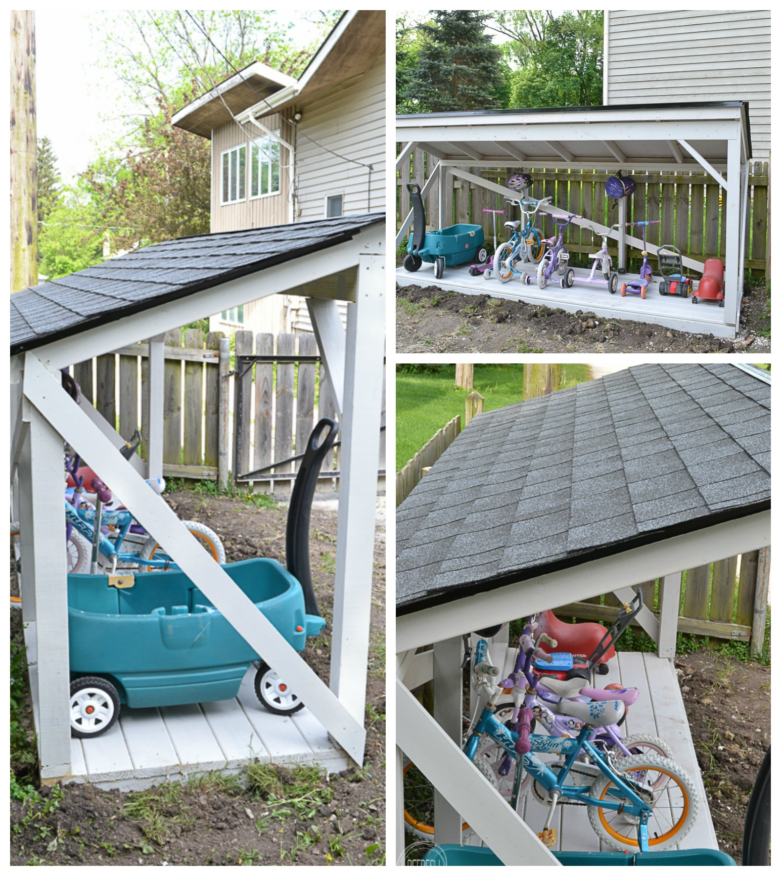 Diy Roof Installation On Storage Shed Refresh Living
