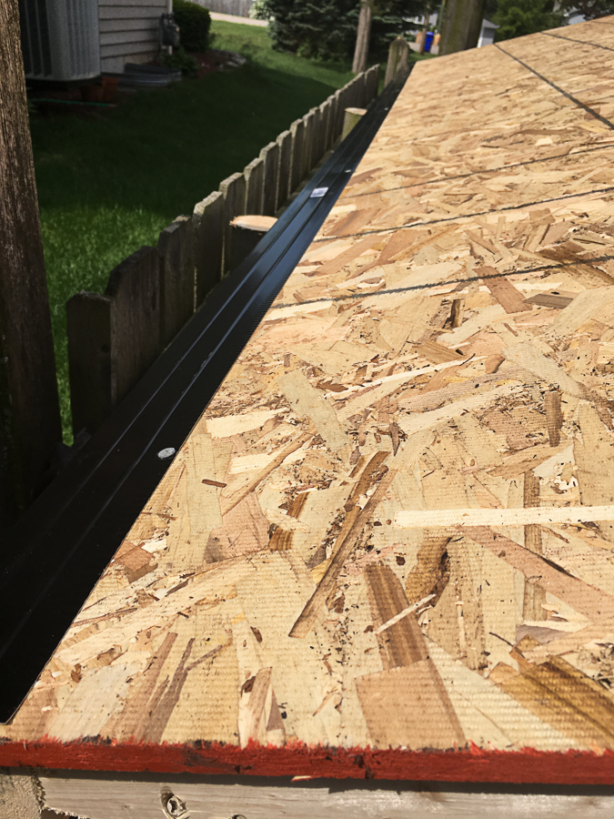 How To Install A Roof Diy Backyard Project 2 Refresh Living