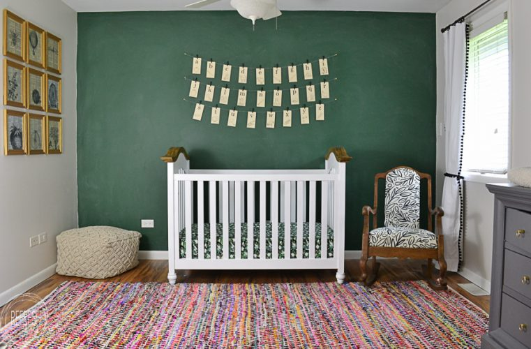 This Nursery Is Filled With Fun Vintage Finds To Create A Modern Spin On