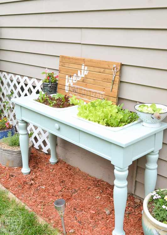 This is probably the easiest DIY raised garden bed I