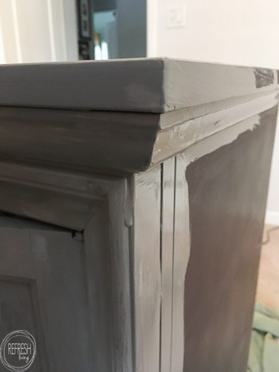 Wondering how to paint over shiny and slick wood? This post answers all those questions.