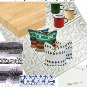 Pop-Up Camper Remodel: Vintage Flea Market Design Plans – Week 1