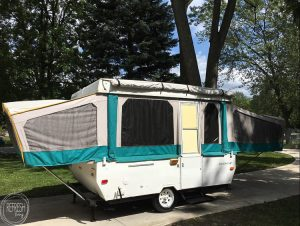Pop Up Camper Remodel: The New Roof - Week 2