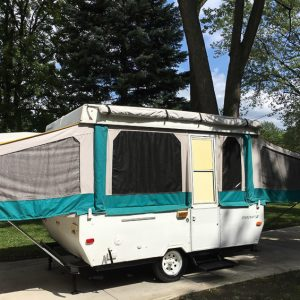 Pop Up Camper Remodel: The New Roof – Week 2