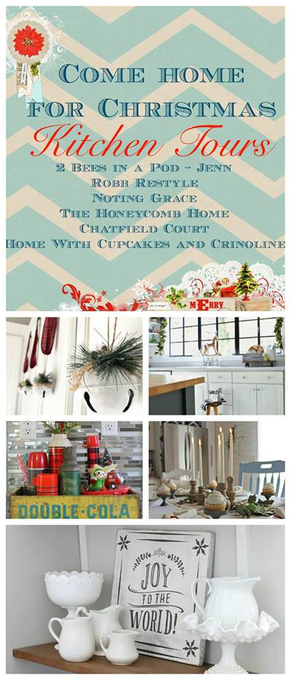 I've always wanted to decorate my kitchen for Christmas. There are so many great ideas in this post.