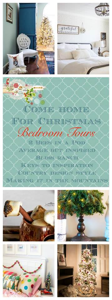 There are so much great ideas on how to decorate your bedroom for Christmas in these posts!