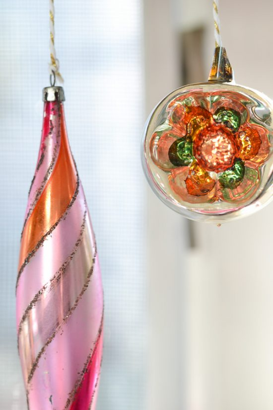 Vintage ornaments are my FAVORITE!