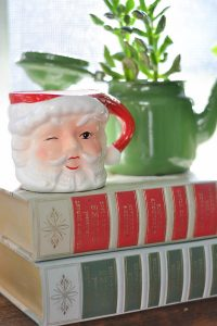 Vintage Christmas items bring so much charm to holiday decorations.