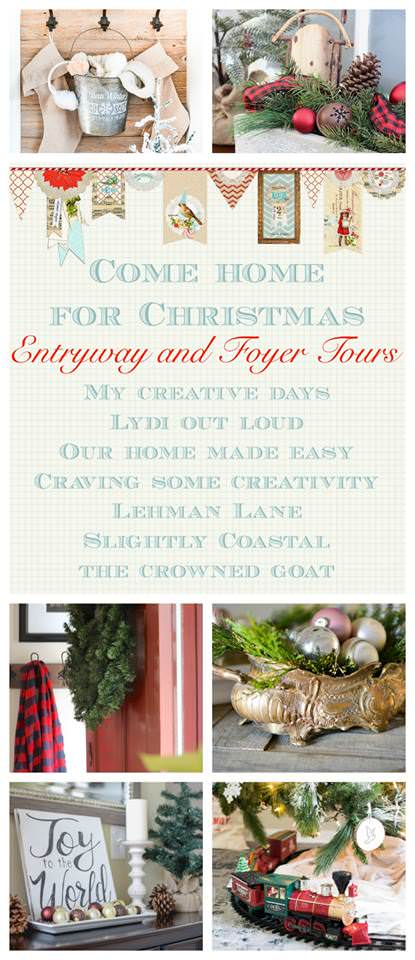 I love how these entryways are decorated for Christmas!