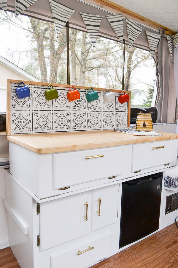 Pop-Up Camper Remodel Reveal - Refresh Living
