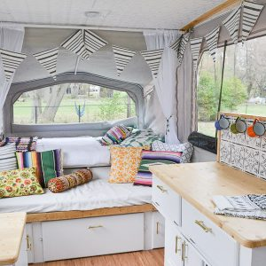 Pop-Up Camper Remodel Reveal