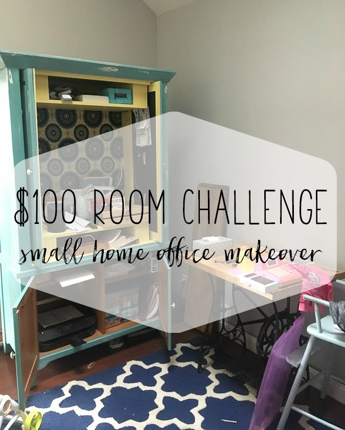 Home Office Makeover Week 1 Of 100 Room Challenge