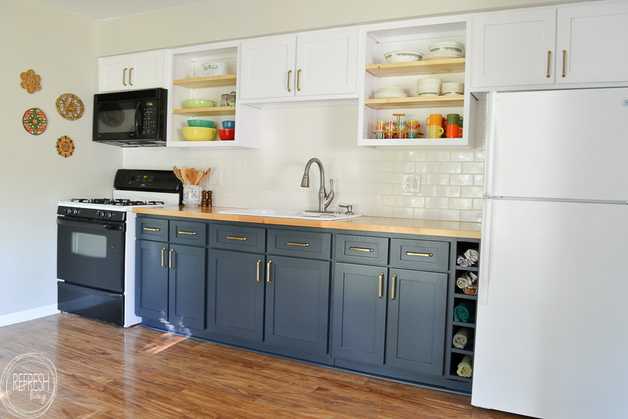 Why I Chose To Reface My Kitchen Cabinets Rather Than Paint Or Replace Refresh Living