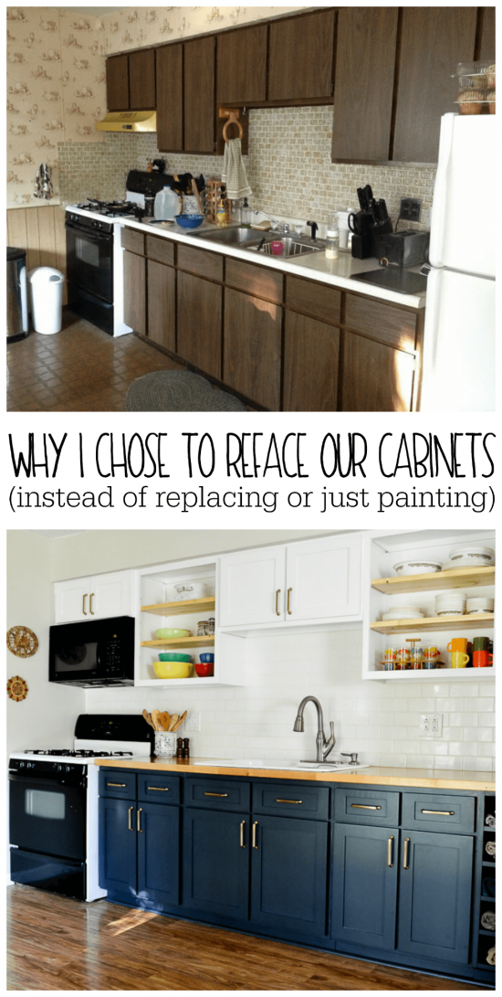 why i chose to reface my kitchen cabinets rather than paint or rh refreshliving us kitchen cabinet doors replacement near me kitchen cabinet doors replacement home depot