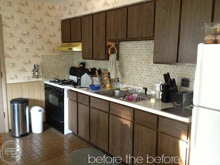 small kitchen update before - Refresh Living