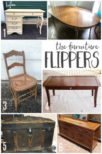 A must read if you refinish furniture. There are so many great futniture refinishing ideas in this post.