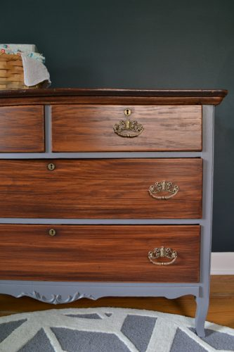 How To Use Gel Stain To Change The Color Of A Wood Dresser