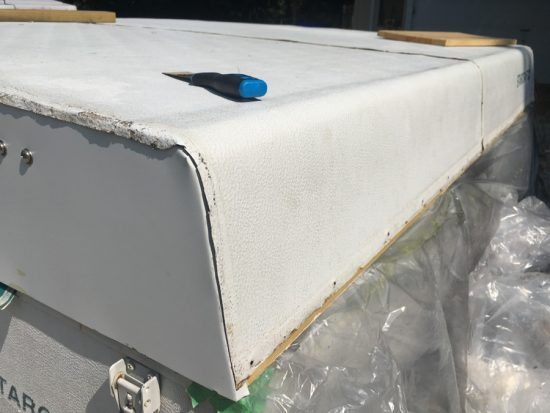 How to repair and rebuild a water damaged pop up camper roof.