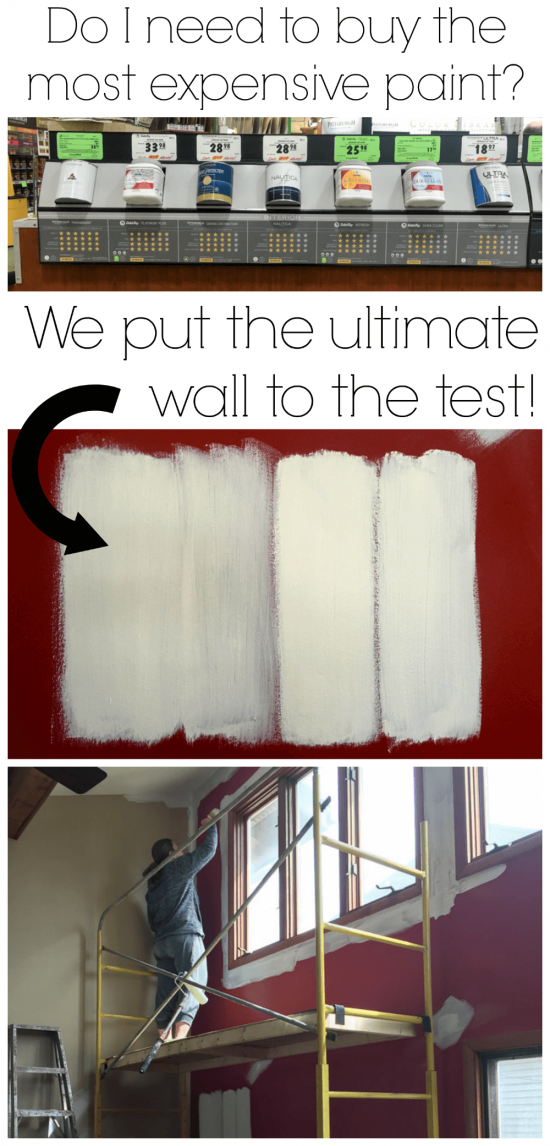 Do I need to buy the most expensive type of paint? Is there a difference in levels of paint sold at the store? Is the more expensive paint really better than the cheaper paints? This post answers all of these questions!