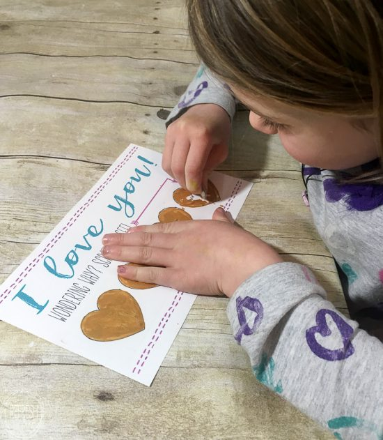 Printable Scratch-Off Valentine's Cards for Kids - Refresh