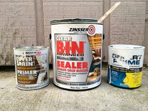 These primers are the best for painting furniture and cabinets when you need to cover up stains, odors, or wood bleed through.