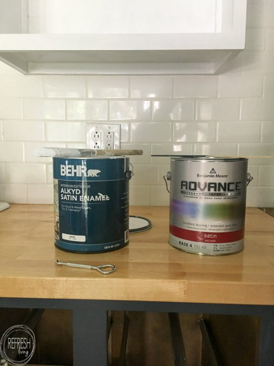 The Best Paint for Kitchen Cabinets - Refresh Living
