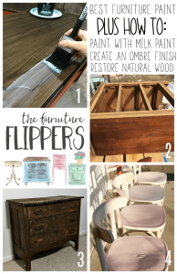 Great collection of posts for anyone who paints or restores furniture!