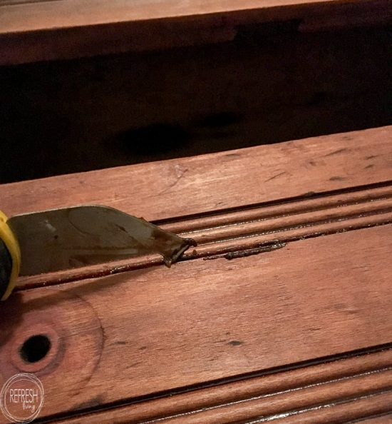 Stripping a piece of furniture to its original raw wood isn't as hard as it seems. Follow these steps to restore the natural wood finish on a piece of old furniture.