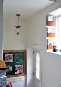 How to add organization to a small back entryway