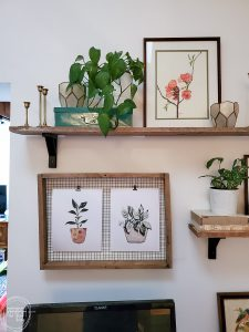 Download a set of six free printables for spring. These watercolor potted plants are a great way to add a touch of spring without spending any money.