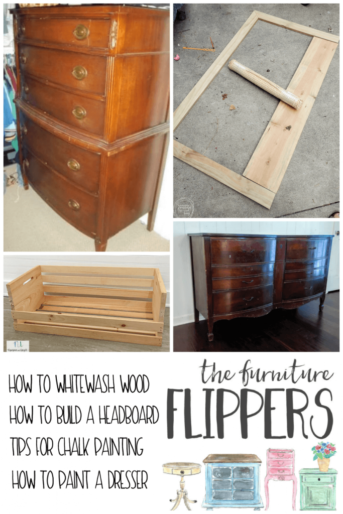 tips for how to refinish and build furniture from the furniture flippers